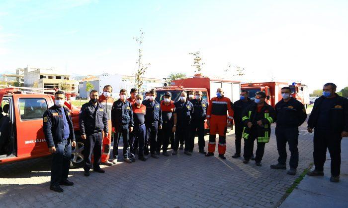 İzmir Kahramanları Muğla'ya Döndü