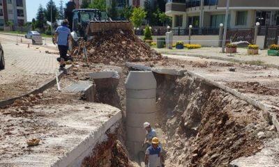 Menteşe'de 725 Hane için Kanalizasyon Hattı Yapıldı